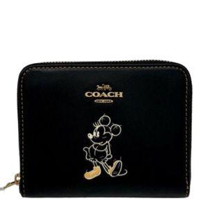 Disney x Coach Small Zip Around Wallet